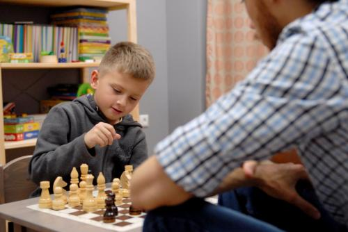 Занятия по шахматам для детей